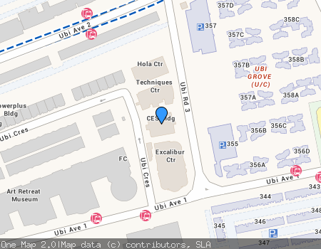 Ces Building Commercial Location Map - Nearby MRT's, s, Malls ... on