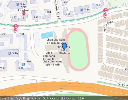 Choa Chu Kang Stadium project photo